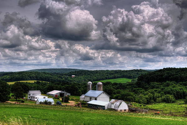 Photograph - America's Dairyland In Sauk County by Dale Kauzlaric