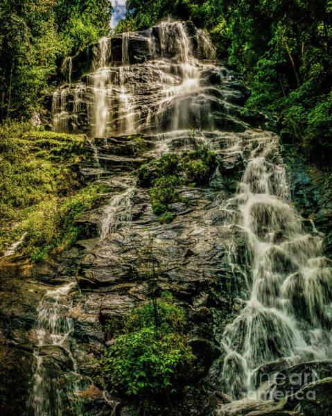 Photograph - Amicalola Waterfall by Nick Zelinsky