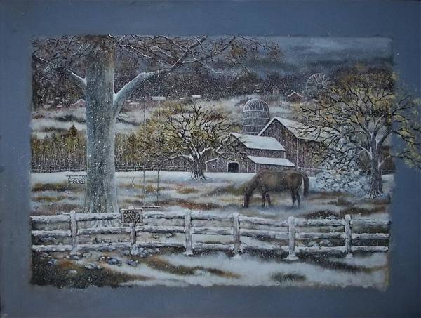 Wall Art - Painting - Amish Baked Goods by Brian Mickey