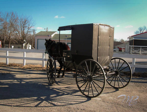 Photograph - Amish Transportation by Marlenda Clark
