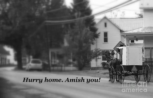 Photograph - Amish You by Patti Whitten