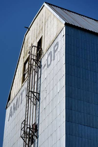 Photograph - Amity Coop Elevator Exterior by Jerry Sodorff