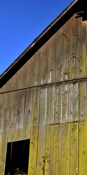 Photograph - Amity Road Barn 3 by Jerry Sodorff