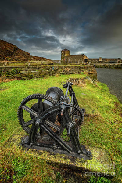 Wall Art - Photograph - Amlwch Harbour Anglesey by Adrian Evans