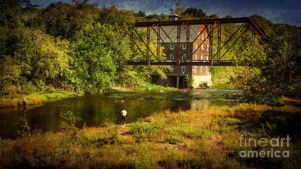 Photograph - Ammerman Mill by Debra Fedchin