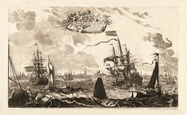 Photograph - Amsterdam 1720 by Andrew Fare