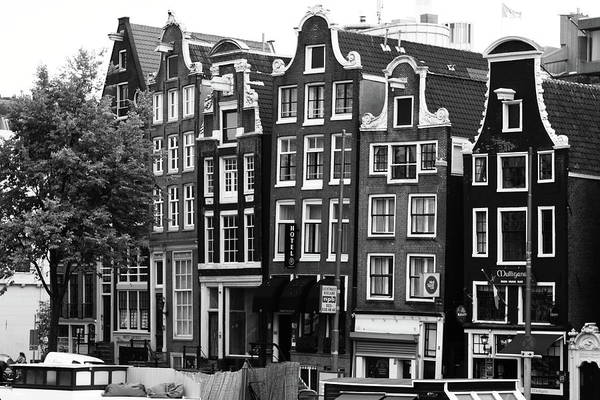 Photograph - Amsterdam Architecture  by Aidan Moran