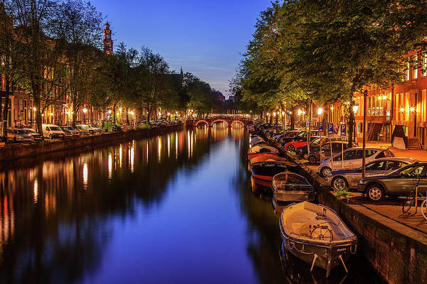 Wall Art - Photograph - Amsterdam At Twilight by Andrew Soundarajan