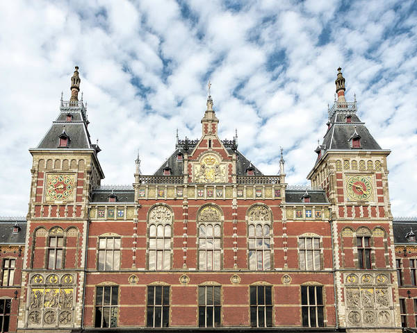Photograph - Amsterdam Centraal Station by Jemmy Archer