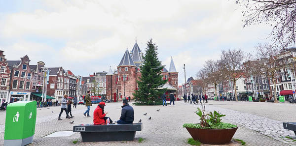Photograph - Amsterdam Christmas by Charles Quiles