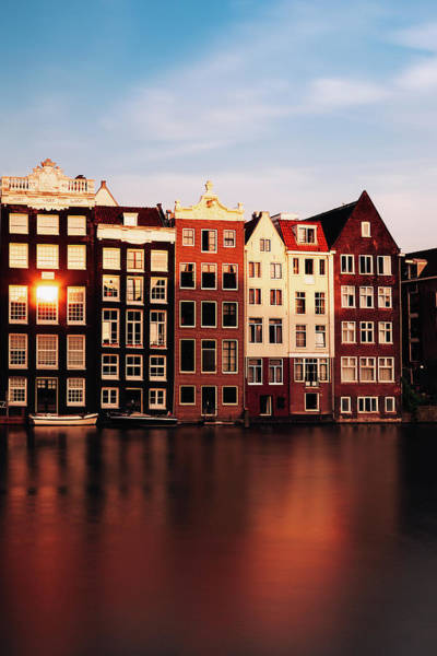 Wall Art - Photograph - Amsterdam Glow by Andrew Soundarajan