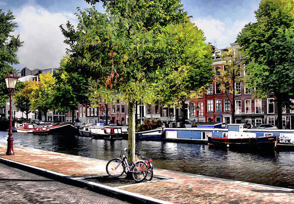 Prinsengracht Photograph - Amsterdam by Jim Hill