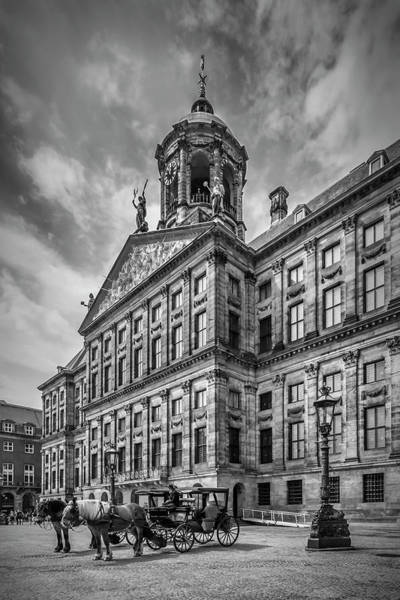 Wall Art - Photograph - Amsterdam Koninklijk Palais by Melanie Viola