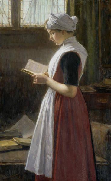 Painting - Amsterdam Orphan Girl by Nicolaas van der Waay
