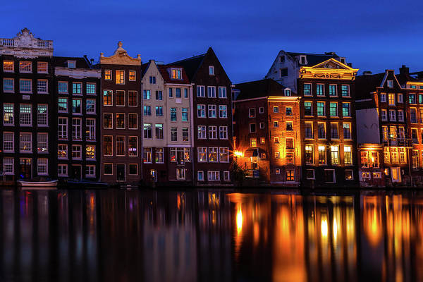 Wall Art - Photograph - Amsterdam Reflections by Andrew Soundarajan