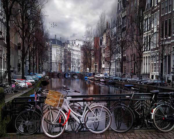 City Scape Digital Art - Amsterdam by Tim Palmer