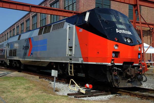 Photograph - Amtrak Bloody Nose II by Matthew Irvin