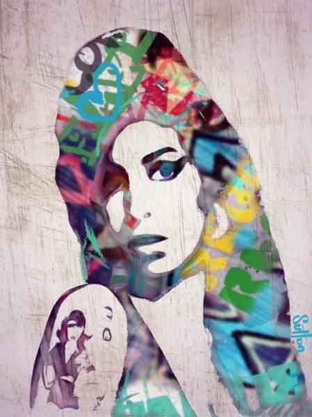 Cool Jazz Digital Art - Amy by Sara Sutton