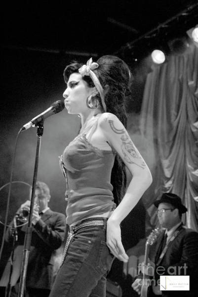 Photograph - Amy Winehouse Exclusive Photos  by Jenny Potter