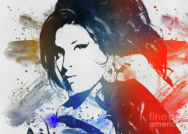 Digital Art - Amy Winehouse by Ian Mitchell