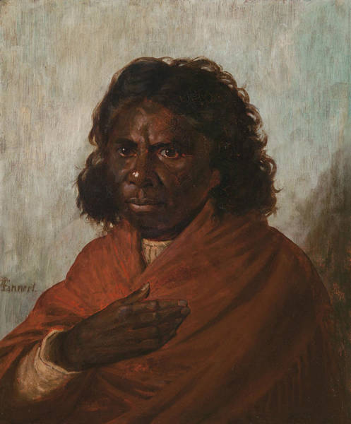 Painting - An Aboriginal Queen by Louis Tannert