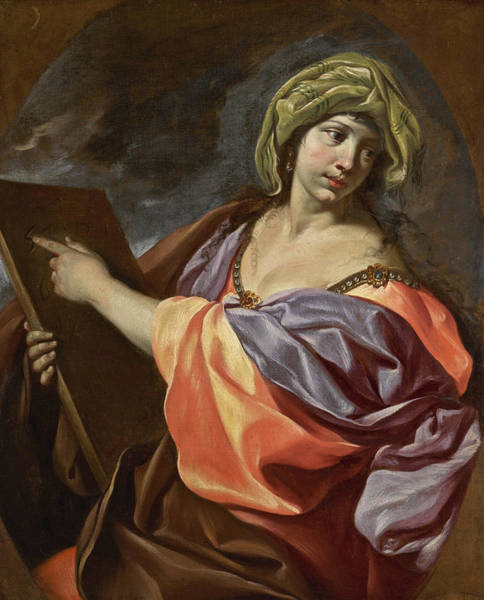 Painting - An Allegory Of Mathematics by Giacinto Brandi