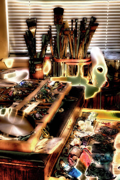 Wall Art - Digital Art - An Artist's Tools by David Patterson