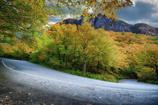 Photograph - An Easy Hairpin Turn On Smugglers Notch by Jeff Folger