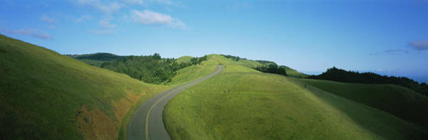 Wall Art - Photograph - An Empty Road Passing by Panoramic Images