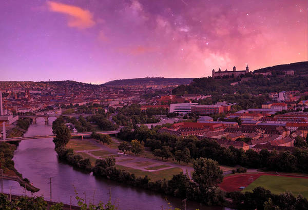 Photograph - An Evening In Wuerzburg Germany by Gerlinde Keating - Galleria GK Keating Associates Inc