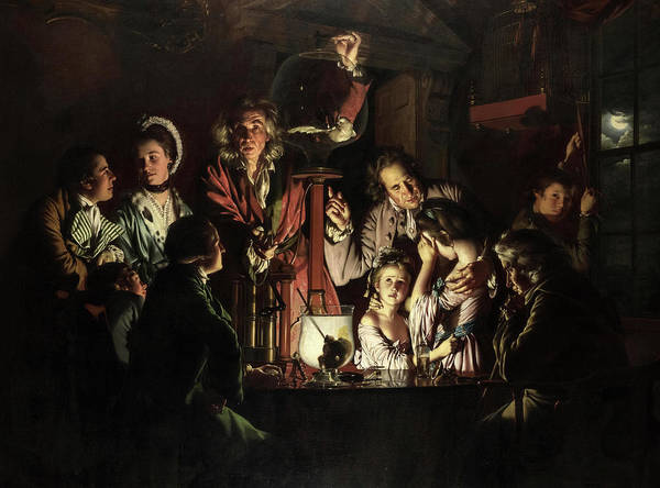 Wall Art - Painting - An Experiment On A Bird In The Air Pump, 1768 by Joseph Wright of Derby
