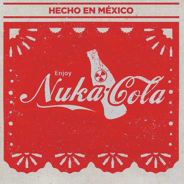 Soda Pop Mixed Media - An Ice Cold Nuka Cola - Fallout Universe by Joseph Oland