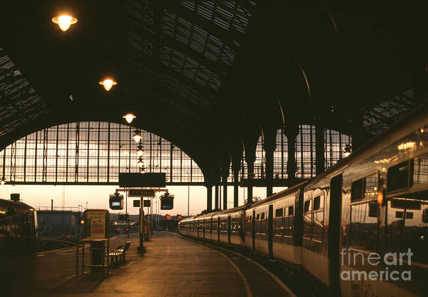 Tram Wall Art - Photograph - An Image Of Brighton Station by Kpg payless
