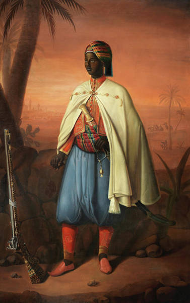 Berber Wall Art - Painting - An Officer Of The Armee D'afrique by Horace Vernet