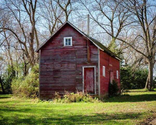 Photograph - An Old Granary by Jim Thompson