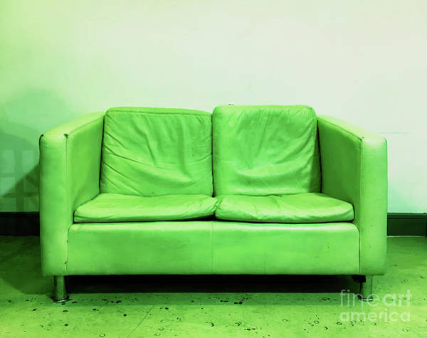 Wall Art - Photograph - An Old Sofa by Tom Gowanlock