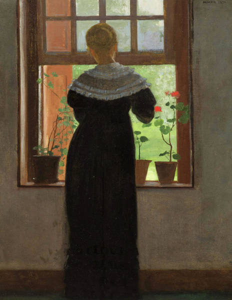 Wall Art - Painting - An Open Window, 1872 by Winslow Homer