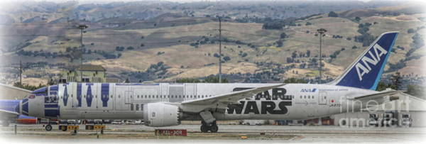 Wall Art - Photograph - Ana Star Wars Airlines  by Chuck Kuhn