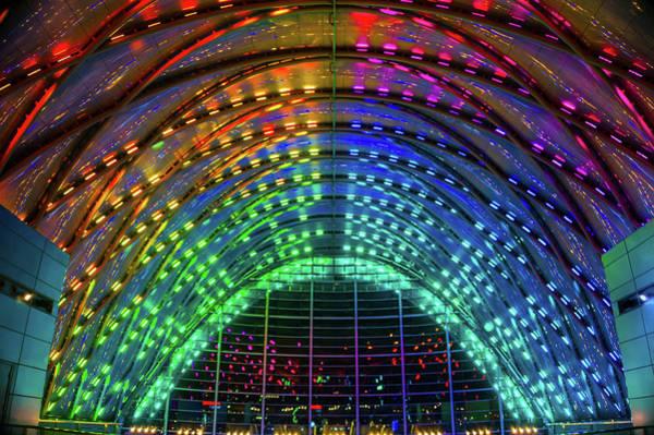 Wall Art - Photograph - Anaheim Regional Transportation Intermodal Center by Art Spectrum