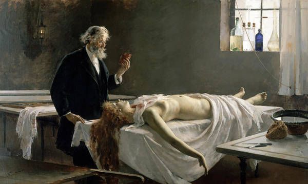 Wall Art - Painting - Anatomy Of The Heart, 1890 by Enrique Simonet