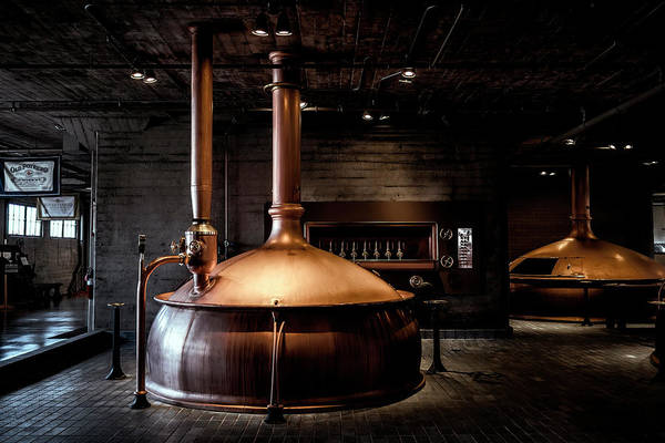 Wall Art - Photograph - Anchor Brewing Copper Vats - San Francisco by Daniel Hagerman