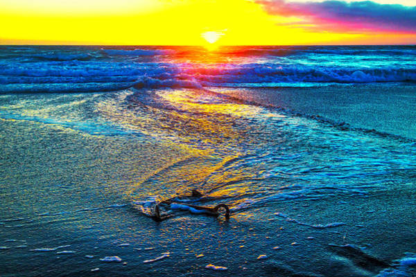 Ship Wreck Photograph - Anchor In The Surf by Garry Gay