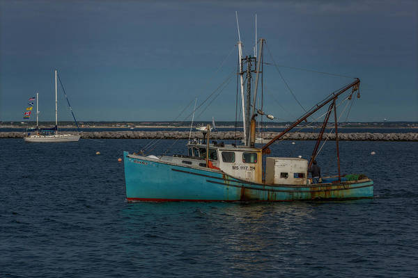 Photograph - Anchored Fishing Troller  by Susan Candelario