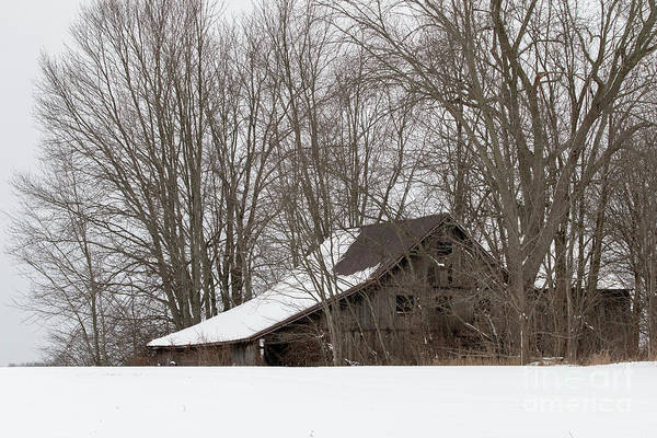 Photograph - Ancient Barn by James Guilford