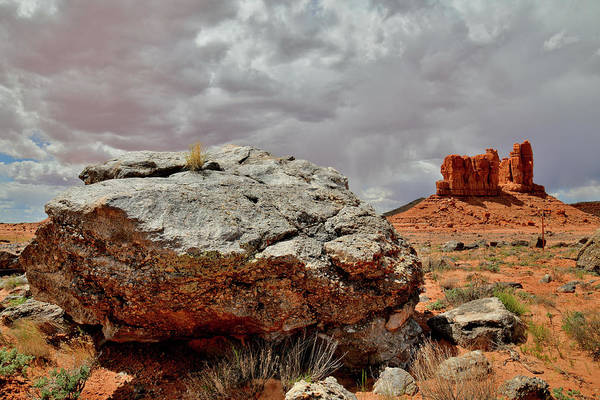 Photograph - Ancient Boulders Along Utah Scenic Byway 191 by Ray Mathis