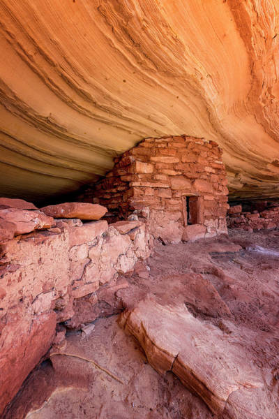 Photograph - Ancient Dwelling by Ryan Wyckoff