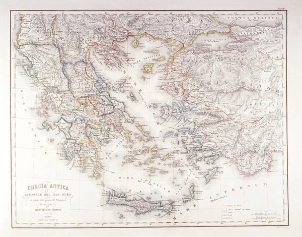 Wall Art - Digital Art - Ancient Greece by Fototeca Gilardi