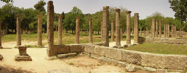 Peloponnese Photograph - Ancient Olympia by Images Etc Ltd