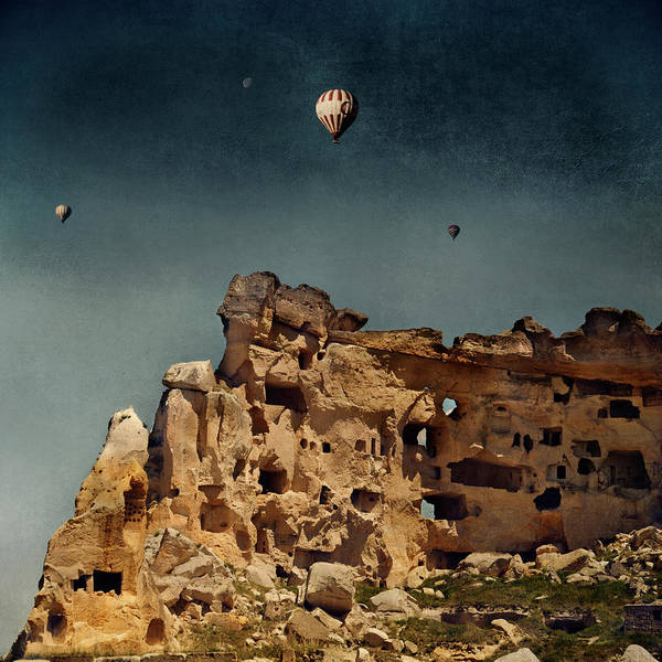 Nevsehir Photograph - Ancient Residences by Istvan Kadar Photography