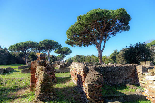 Wall Art - Photograph - Ancient Roman Port by W Chris Fooshee